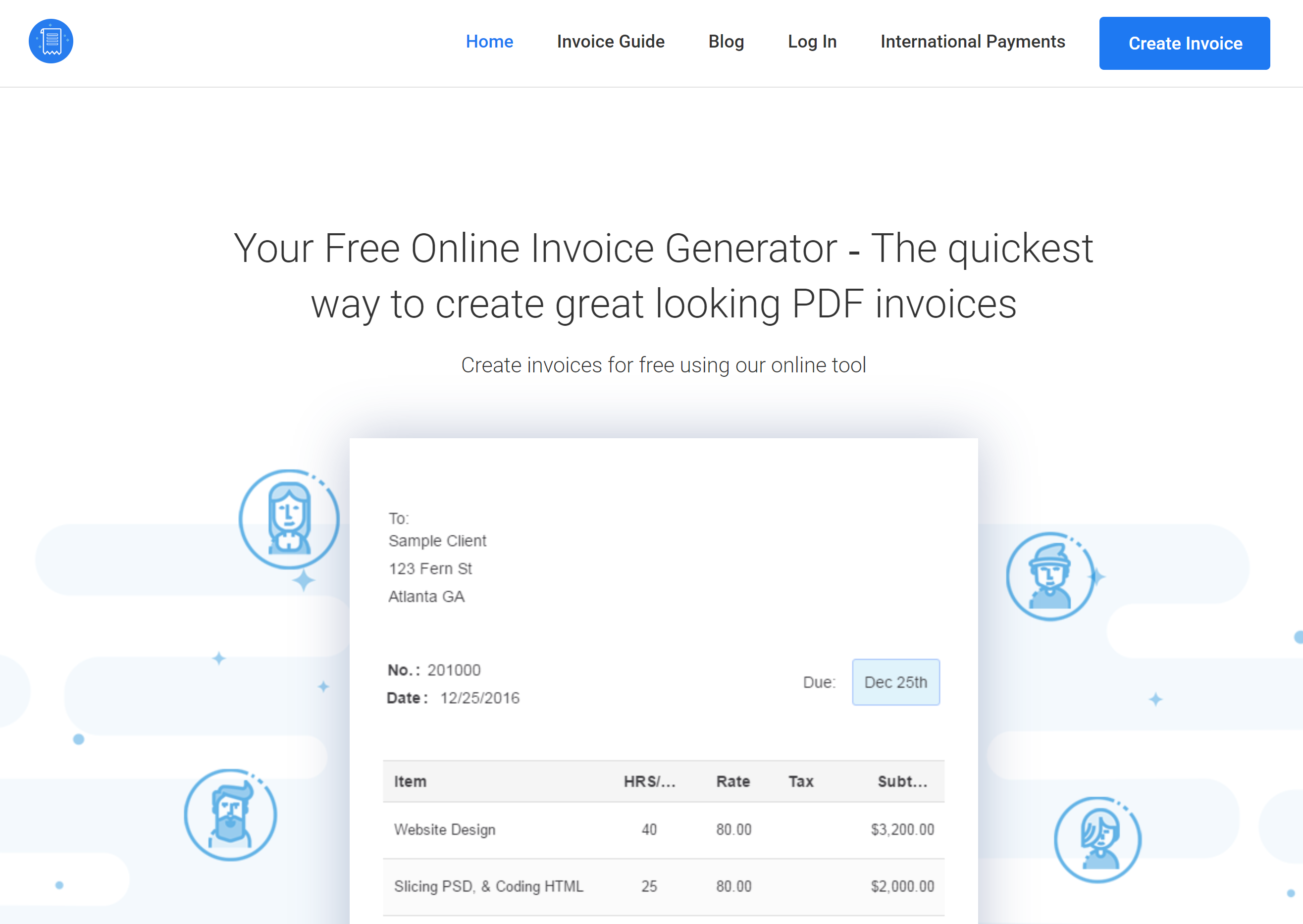 Anchor Invoicing